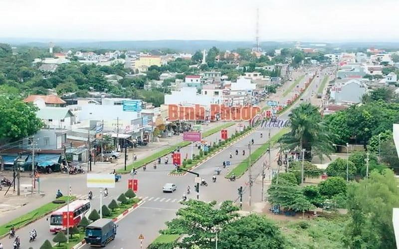 Trung tâm tỉnh Bình Phước
