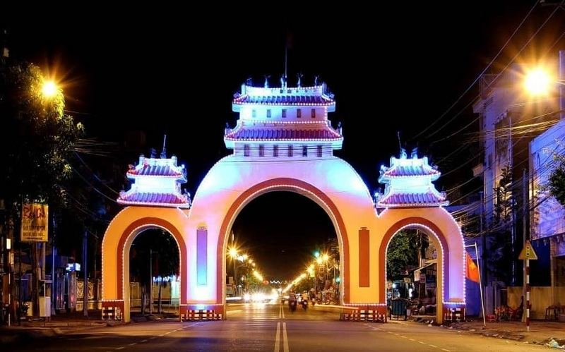 Cổng chào biểu tượng Kiên Giang