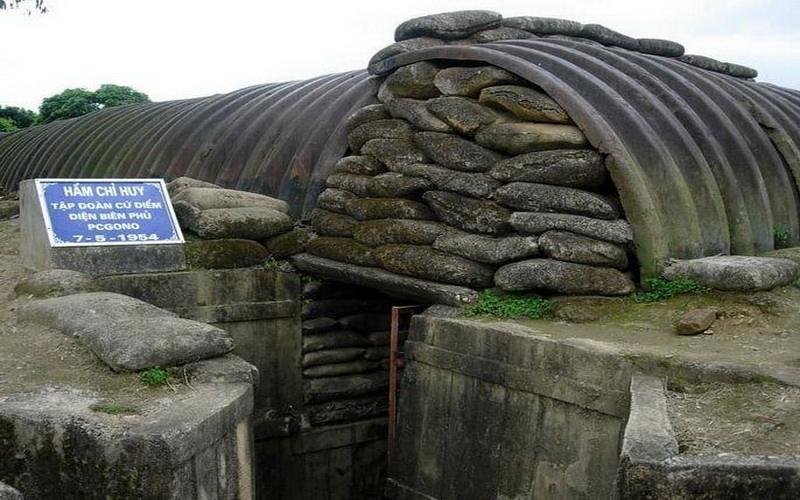 Hầm Tướng Docat tại Điện Biên Phủ