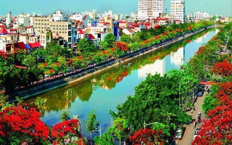 Thanh pho hoa phuong do Hai Phong
