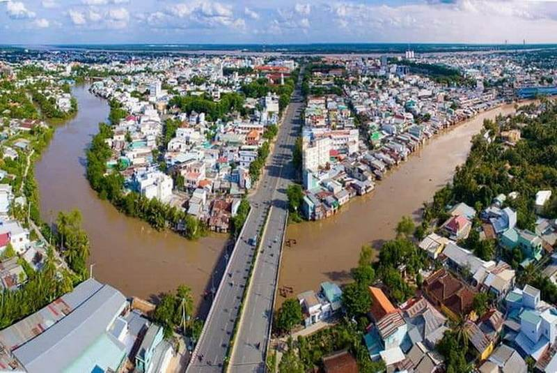 Trung tâm tp My Tho Tien Giang