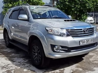 【Fortuner 7-seater car hire Thailan】