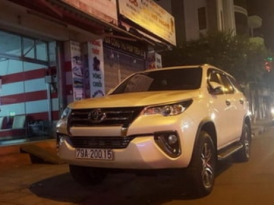 【Fortuner 7-seater car hire Indonesia】